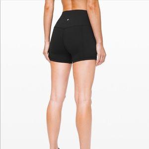 "Align 4"" inch shorts black size 6"